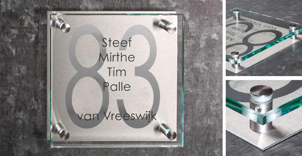 Naambord Voordeur Landelijk : De naamborden specialist voor uw naamplaat online