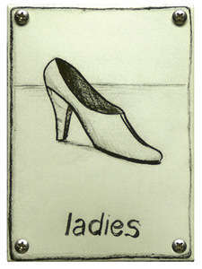 Toilet bord Ladies Pump