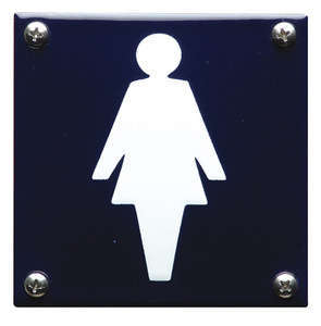 Dames Toilet bord pictogram