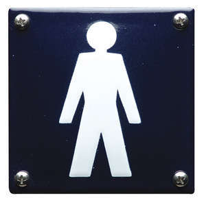 Toilet bord Heren Pictogram